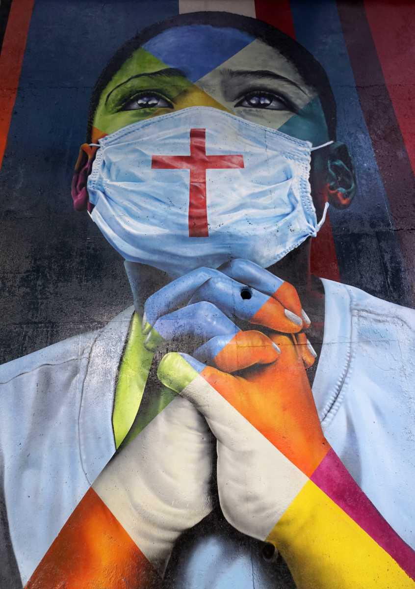 [ Focus ] Covid-19 : hommage aux victimes du Coronavirus par Eduardo Kobra