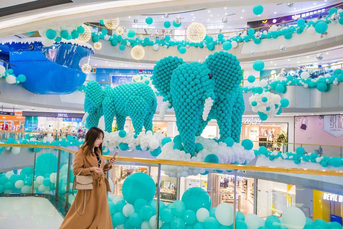 [Focus] - Wow ! En Chine, ce centre commercial a une déco de fou!