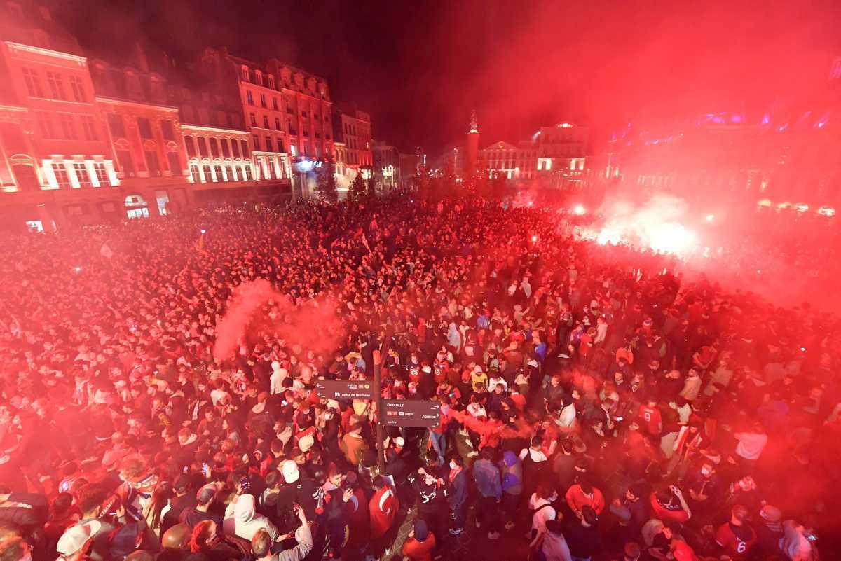 [Focus] - Victoire du Losc : retour en images sur la joie des supporters lillois