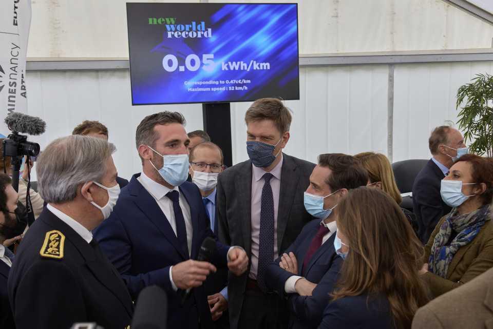 [Focus] - France : record du monde pour l'Urbanloop !