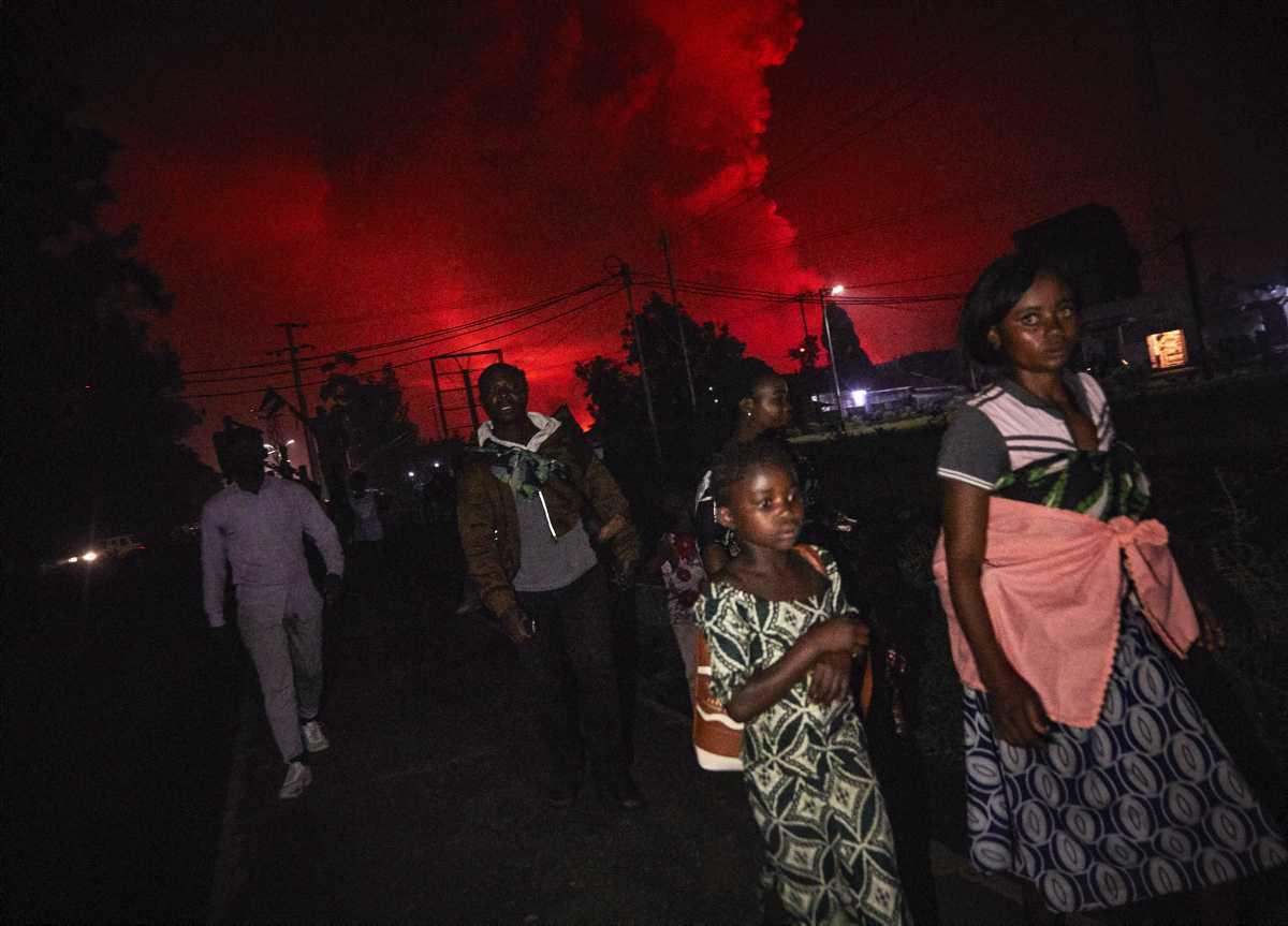 """[Focus] - Seconde éruption d'un volcan proche du Nyiragongo : """"fausse alerte"""" au Congo (RDC)"""