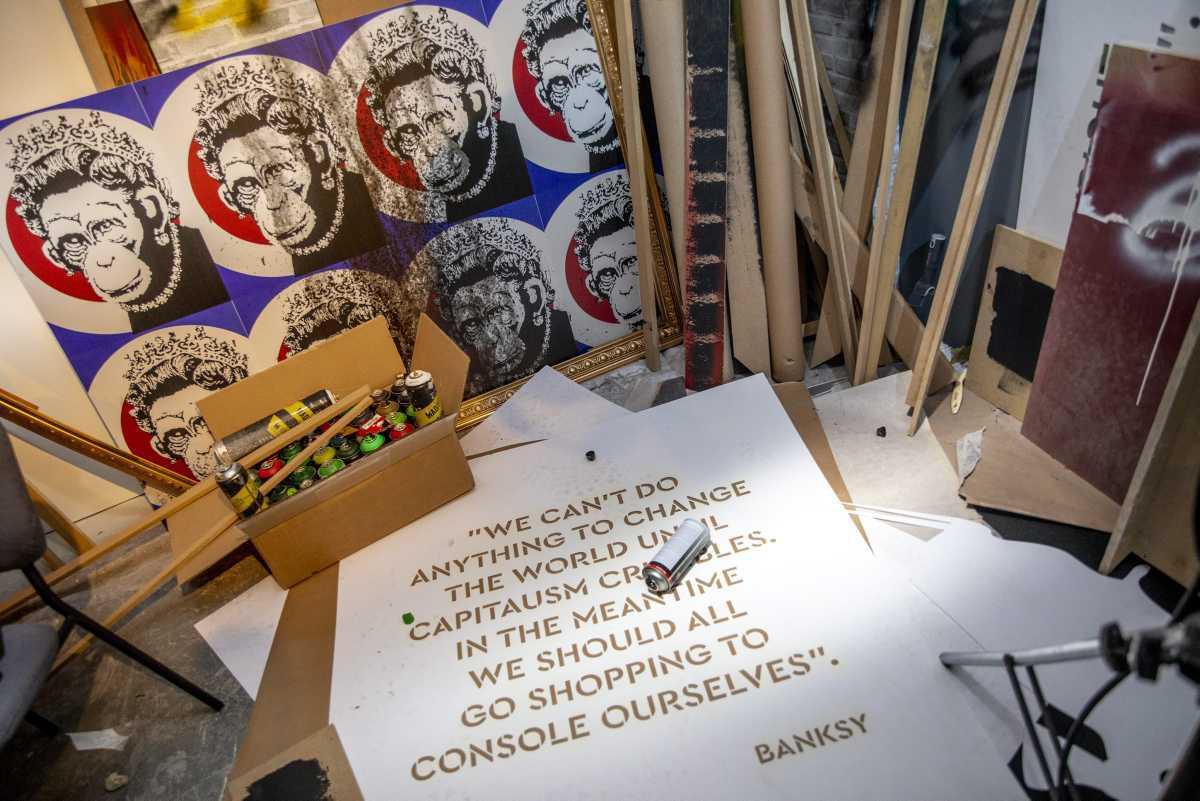 [Focus] - Banksy : Genius or Vandal, l'exposition à ne pas rater à Bruxelles !