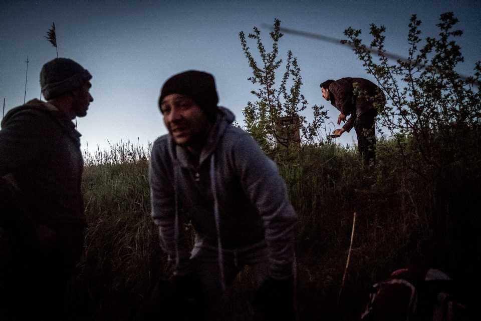 [Focus] - Reportage : une nuit avec des réfugiés en partance pour l'Europe