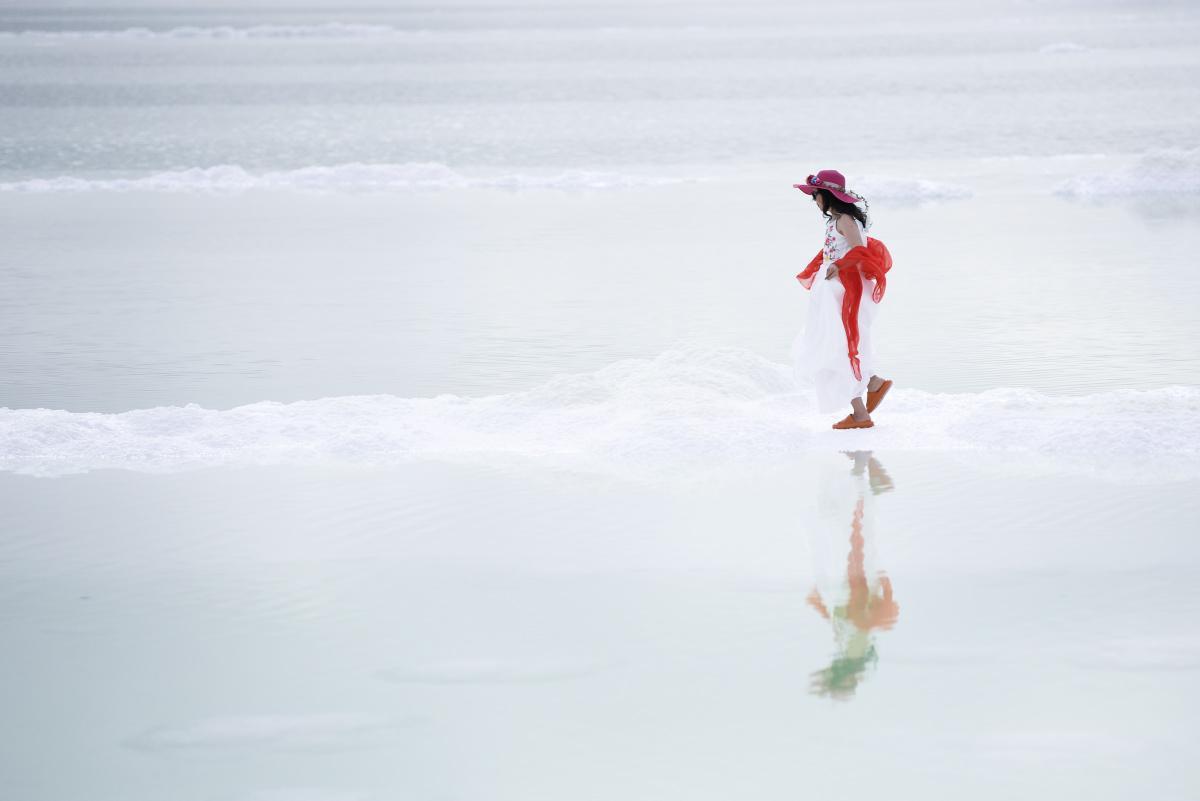 [Focus] - Les beaux paysages du lac d'émeraude de Qinghai en Chine