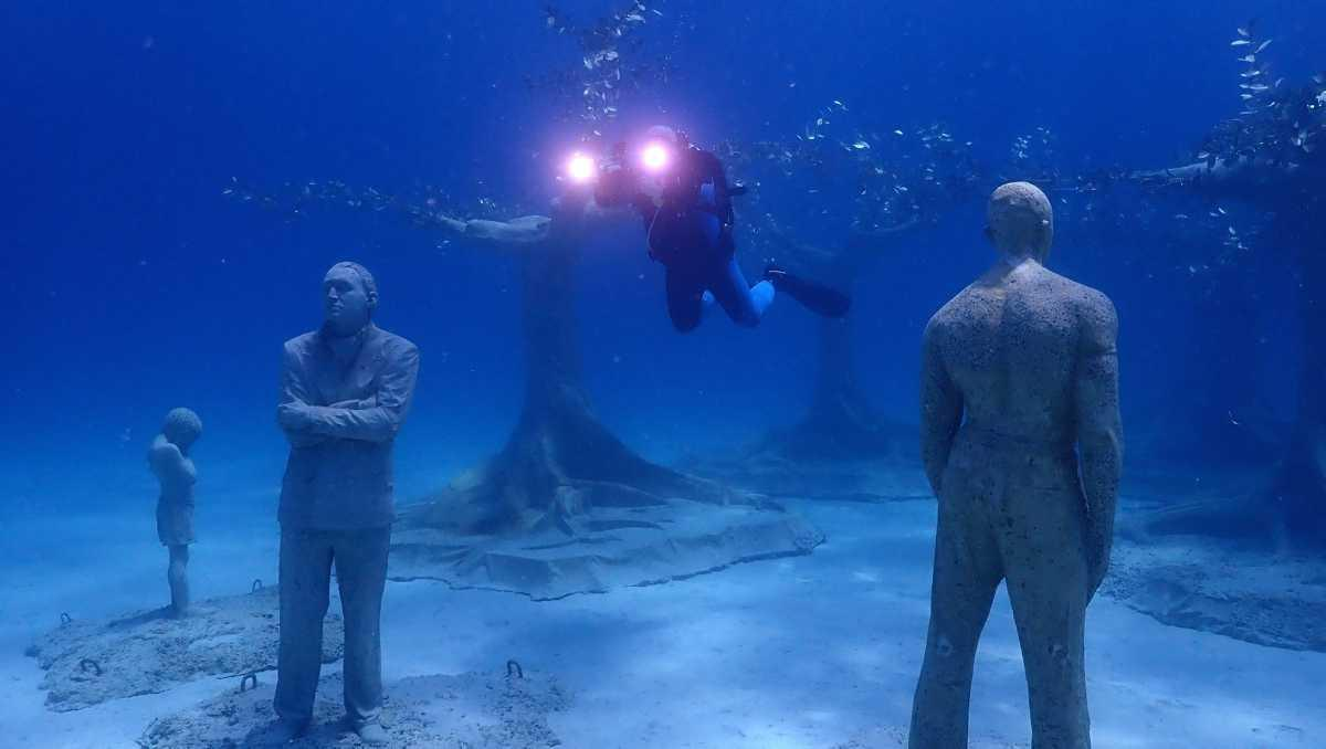 [Focus] - Insolite : Chypre inaugure sous musée sous-marin