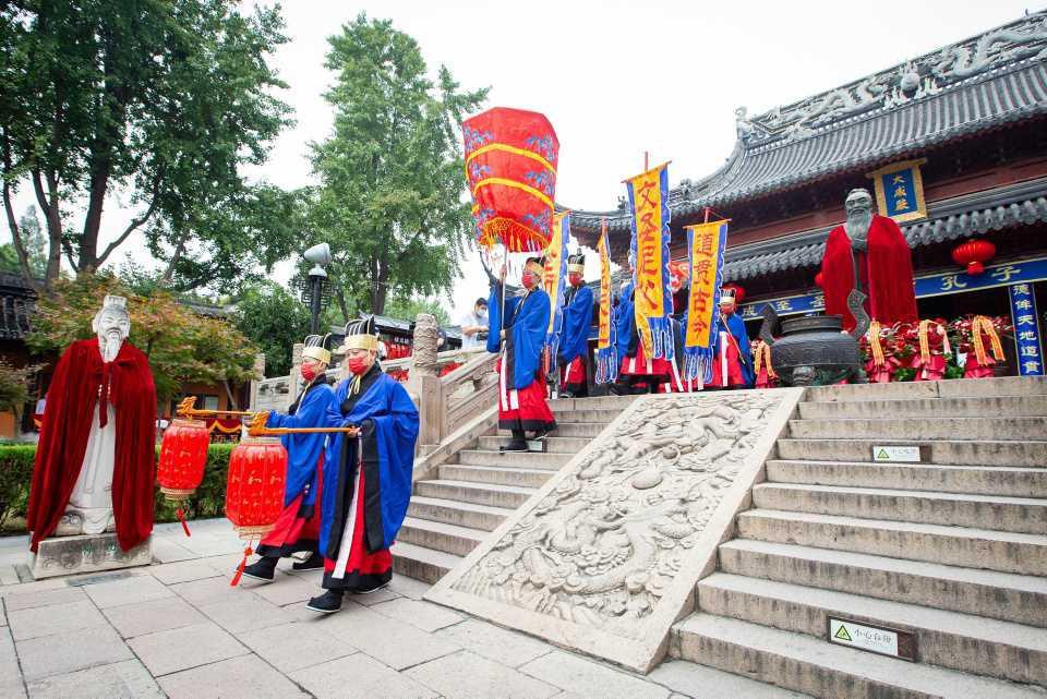 [Focus] - Célébration de l'anniversaire de Confucius ce 28 septembre