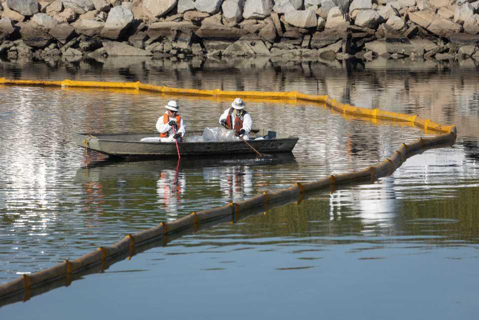 [Focus] - Marée noire : 500 000 litres de pétrole souillent les côtes californiennes