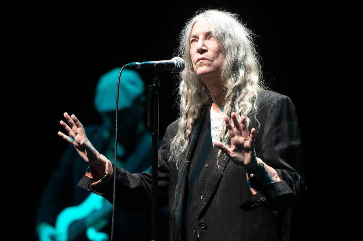[ Focus ] - Patti Smith en concert au Royal Albert Hall de Londres
