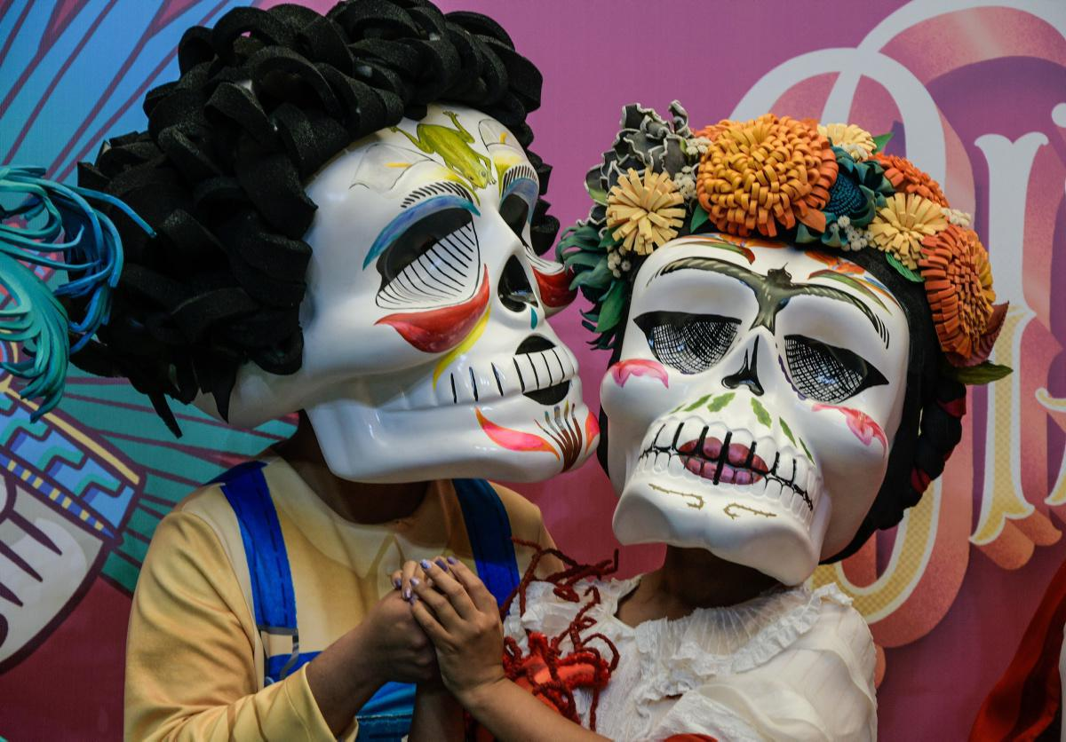"""[ Focus ] - Présentation officielle du défilé de la Journée internationale des morts """"Dia de Muertos"""""""