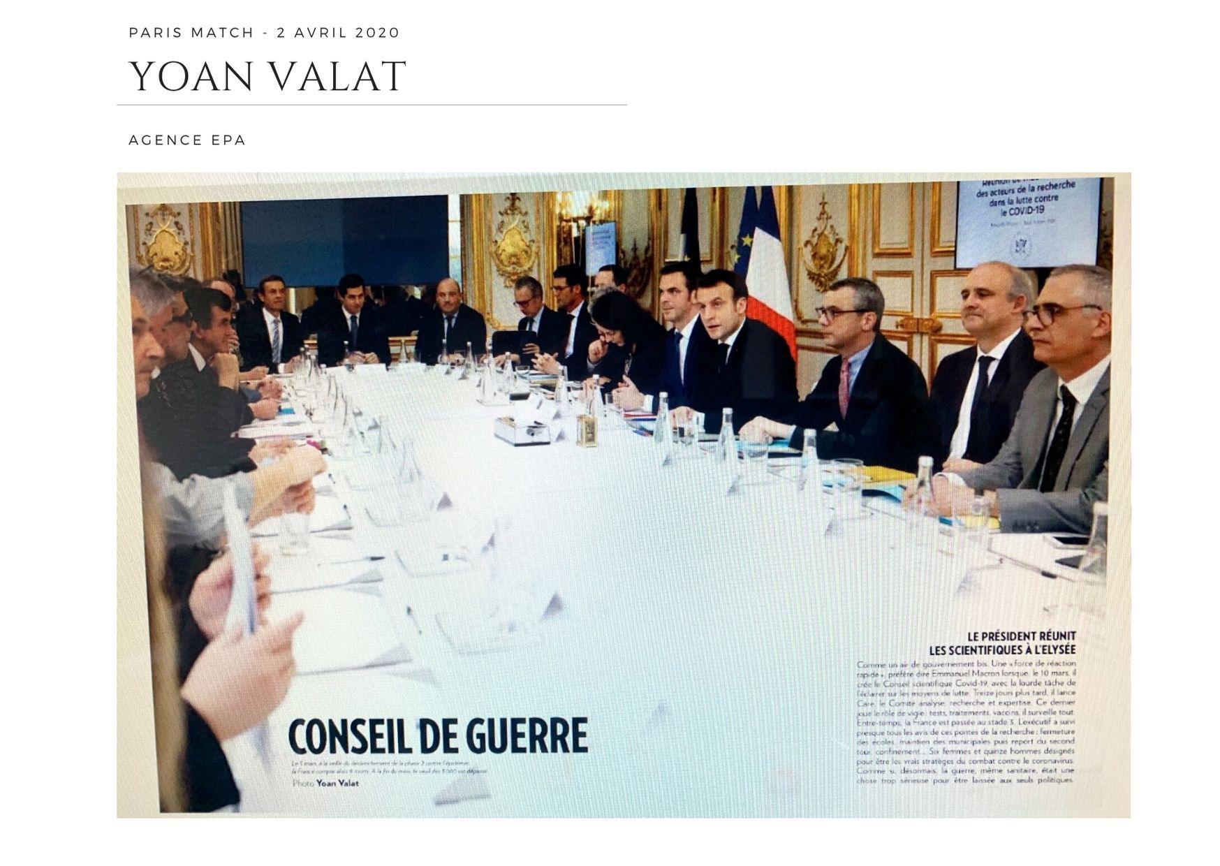 Paris Match - 2 avril 2020