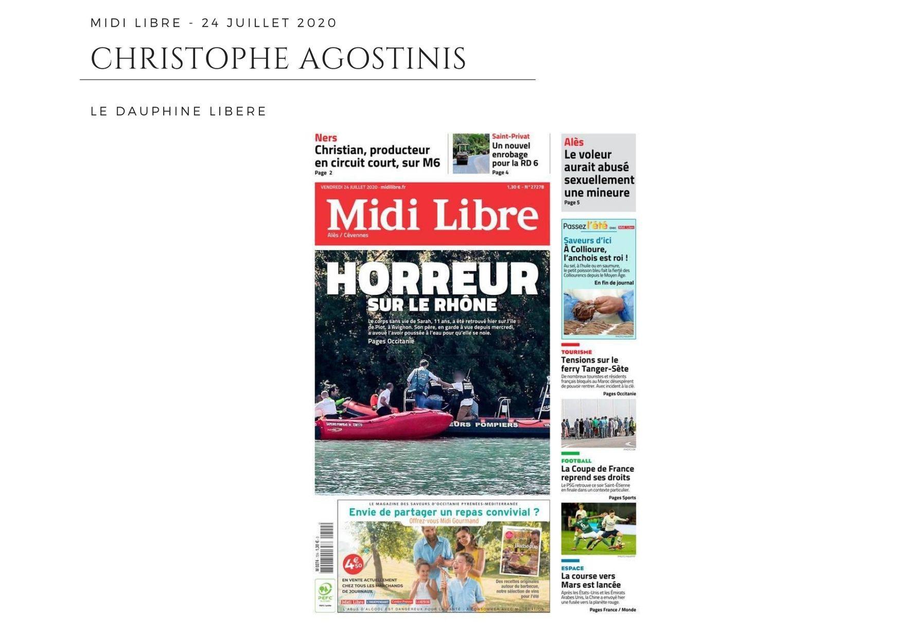 Midi Libre - 24 juillet 2020