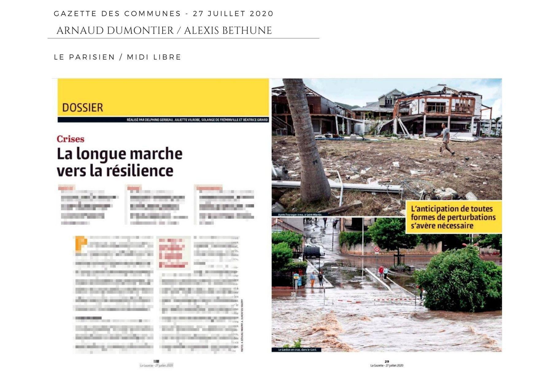 Gazette des Communes - 27 juillet 2020