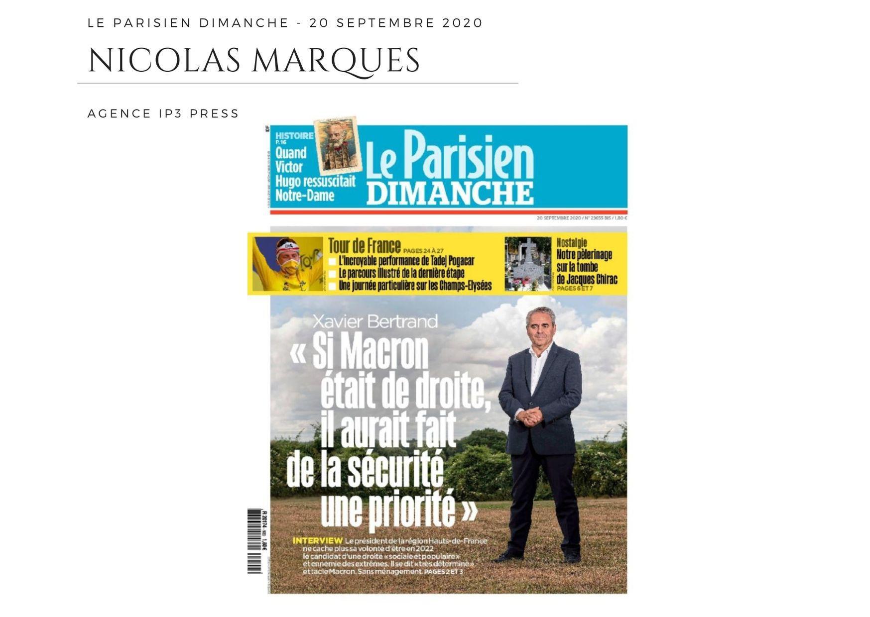 Le Parisien Dimanche - 20 septembre 2020