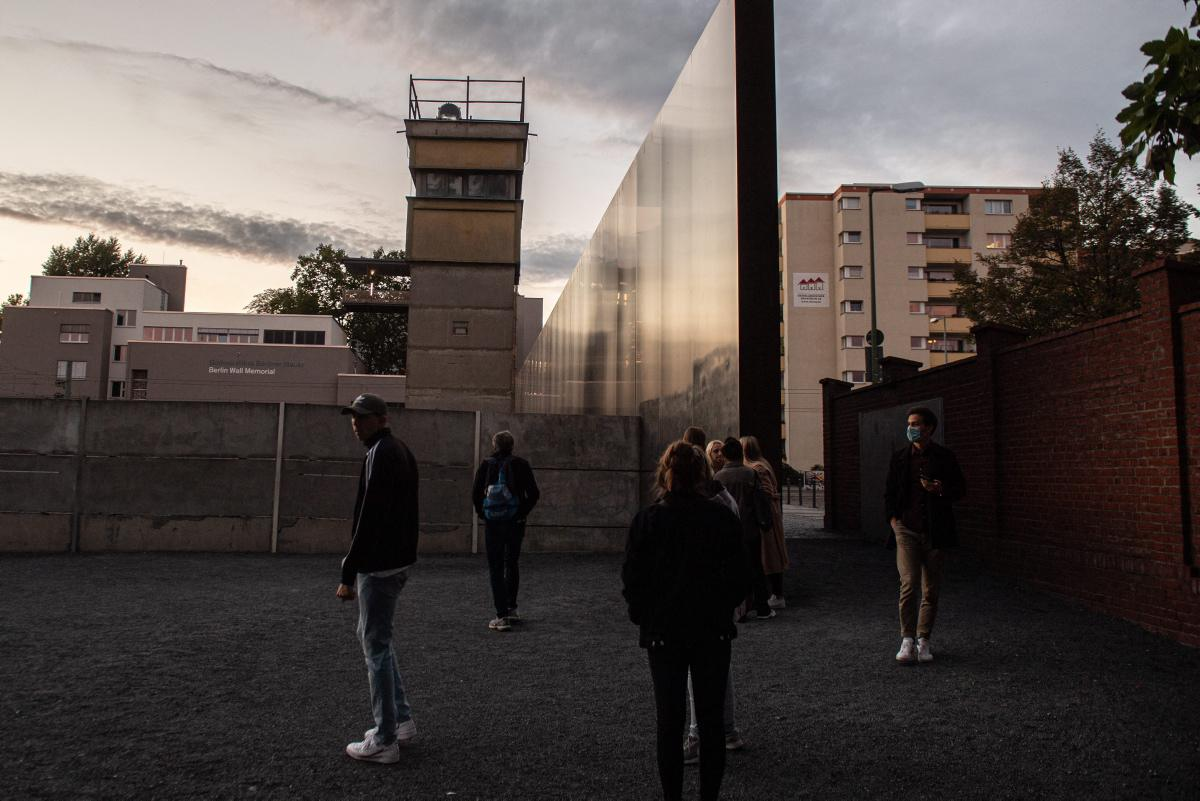 The Berlin Wall Ahead of 31st Anniversary of the Reunification of East and West Germany