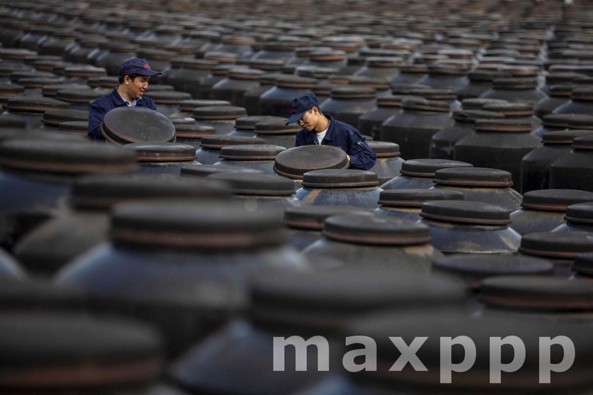 Hengshun Group traditional vinegar making factory