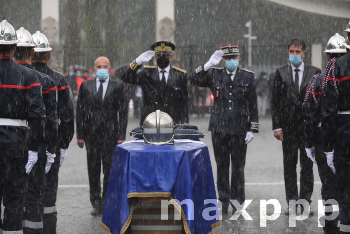 TEMPETE ALEX - Cérémonie funéraire du commandant Bruno Kohlhuber