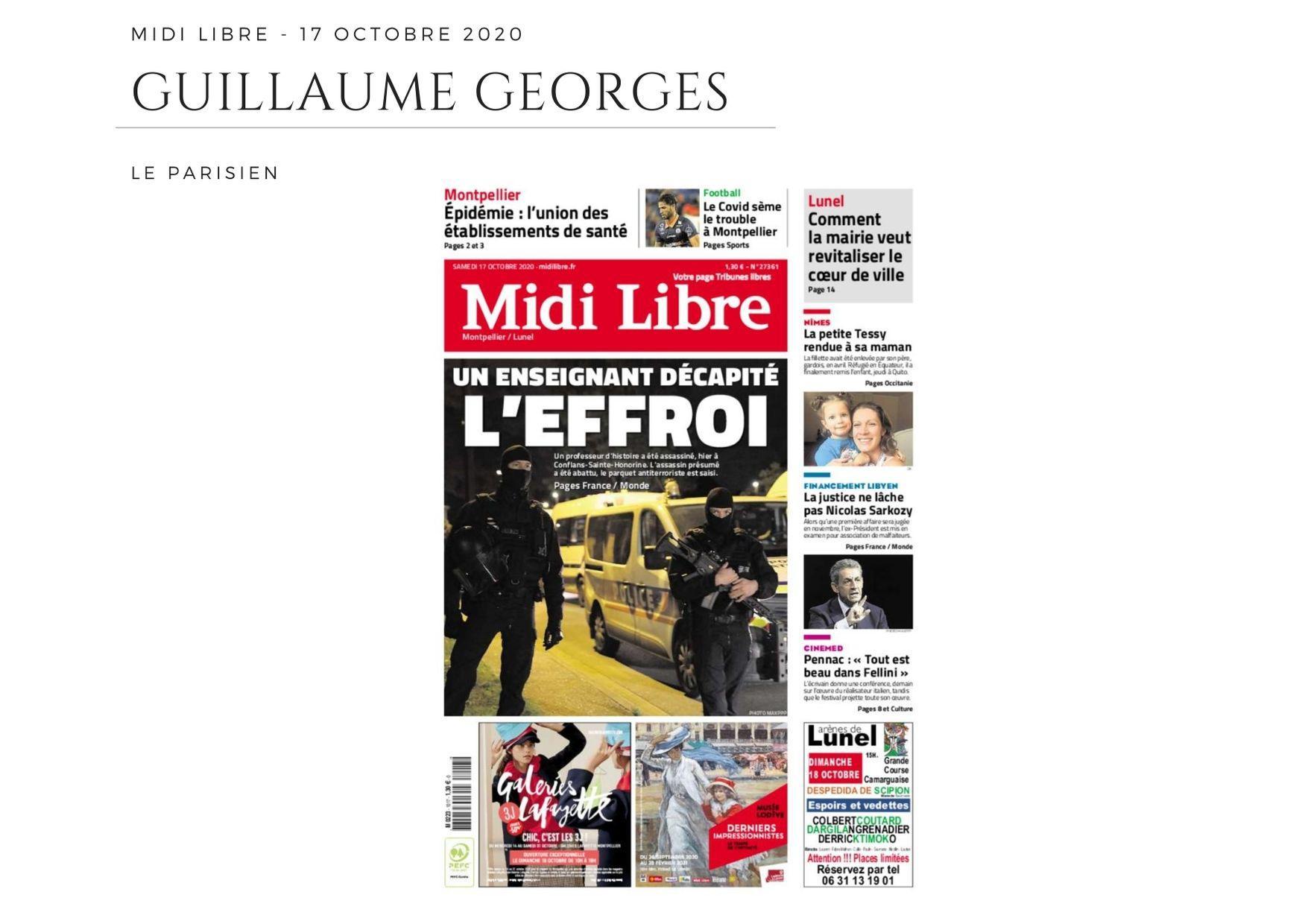 Midi Libre - 17 octobre 2020