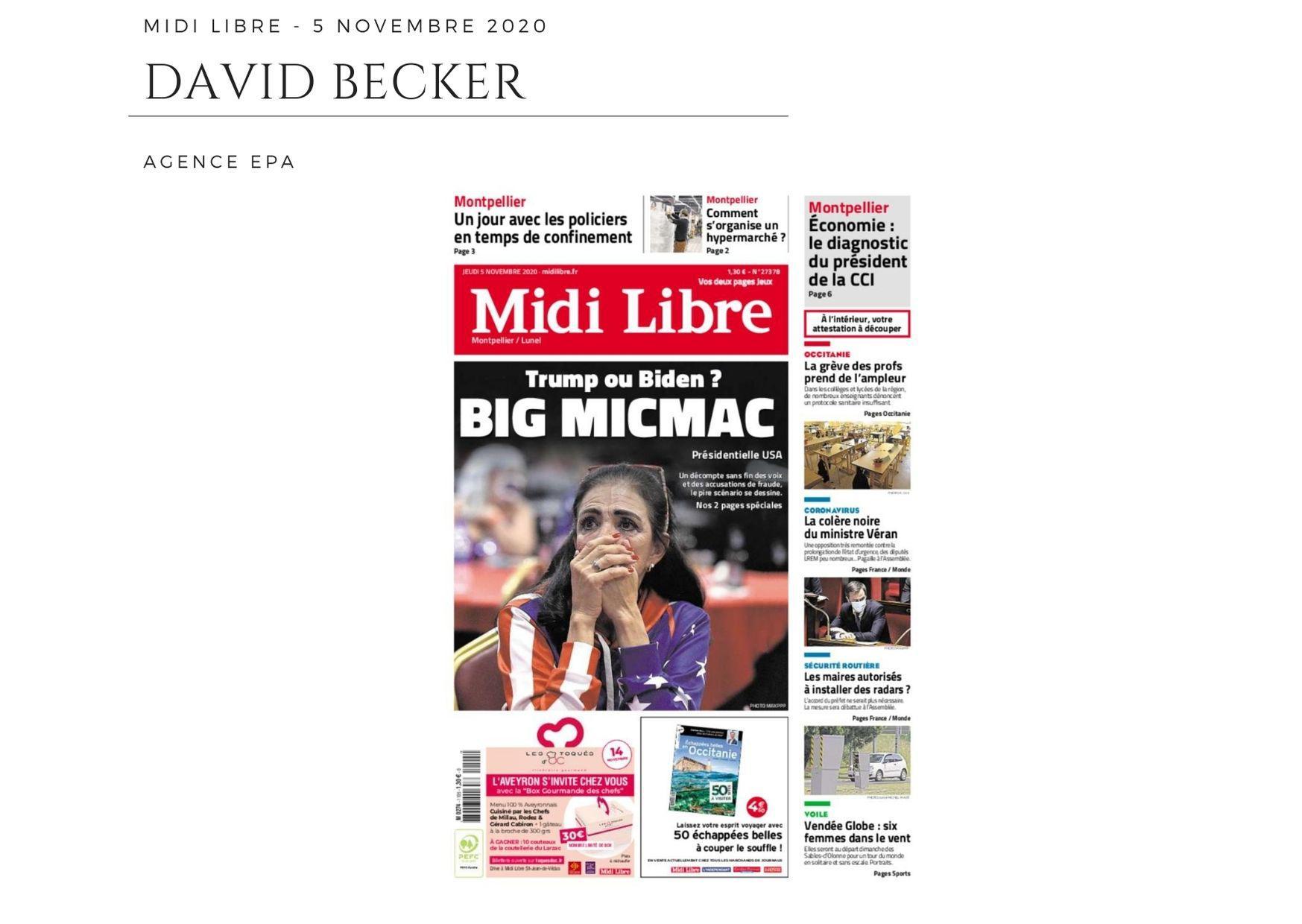 Midi Libre - 5 novembre 2020