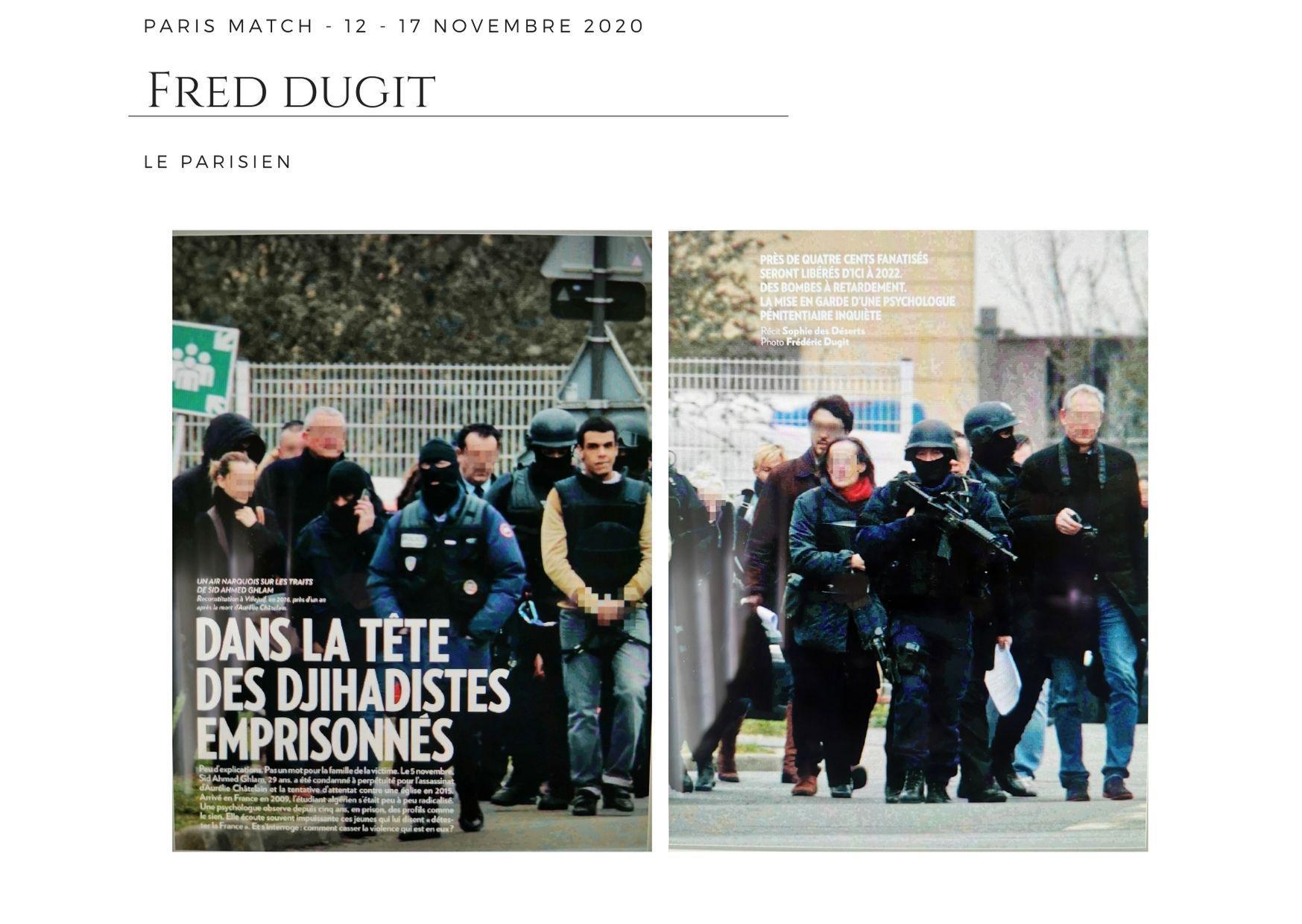 Paris Match - 12 novembre 2020