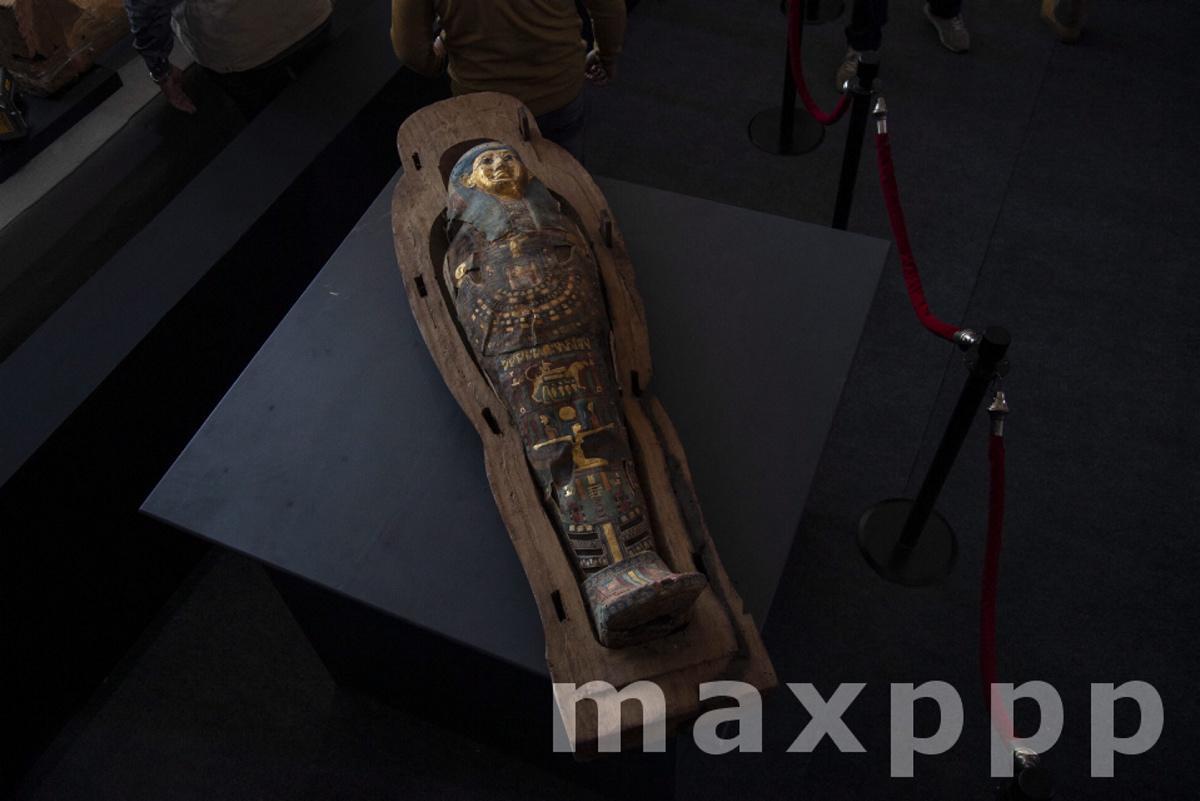 New discoveries at Saqqara Necropolis in Giza