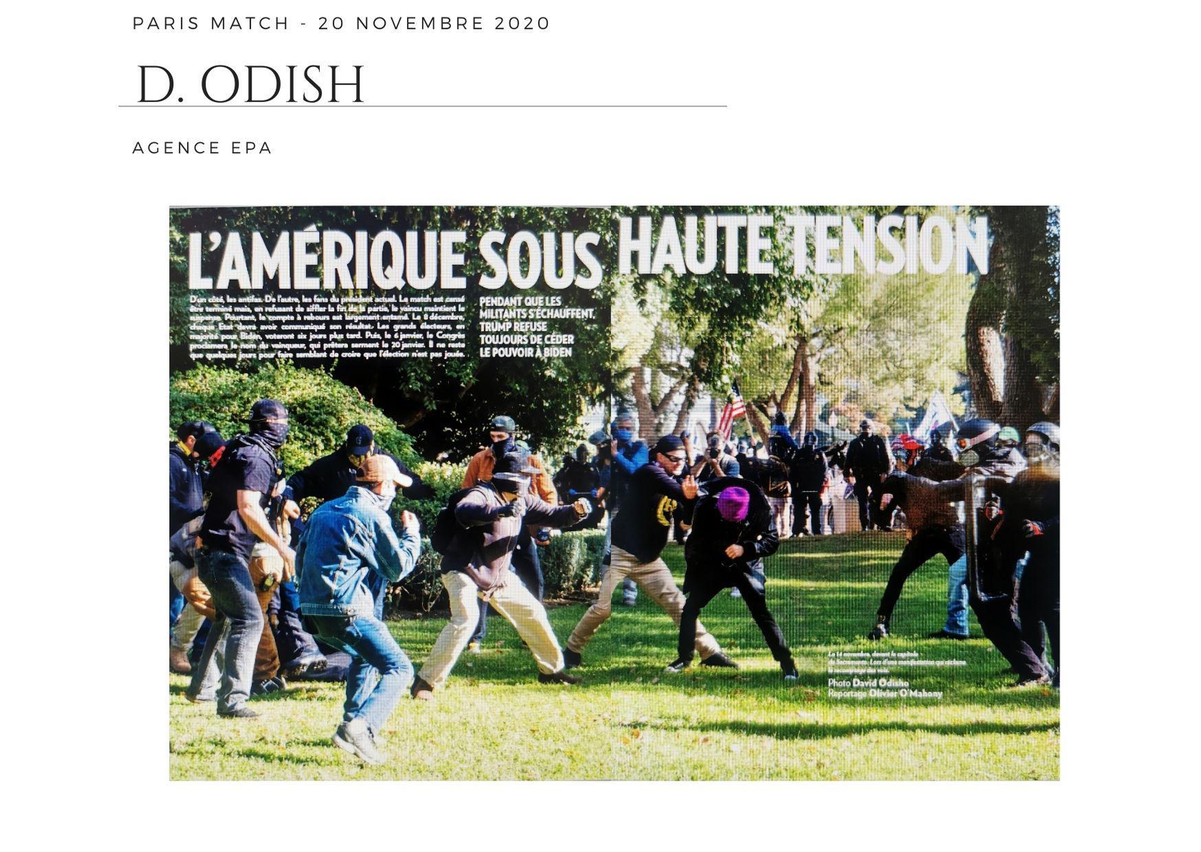 Paris Match - 20 novembre 2020