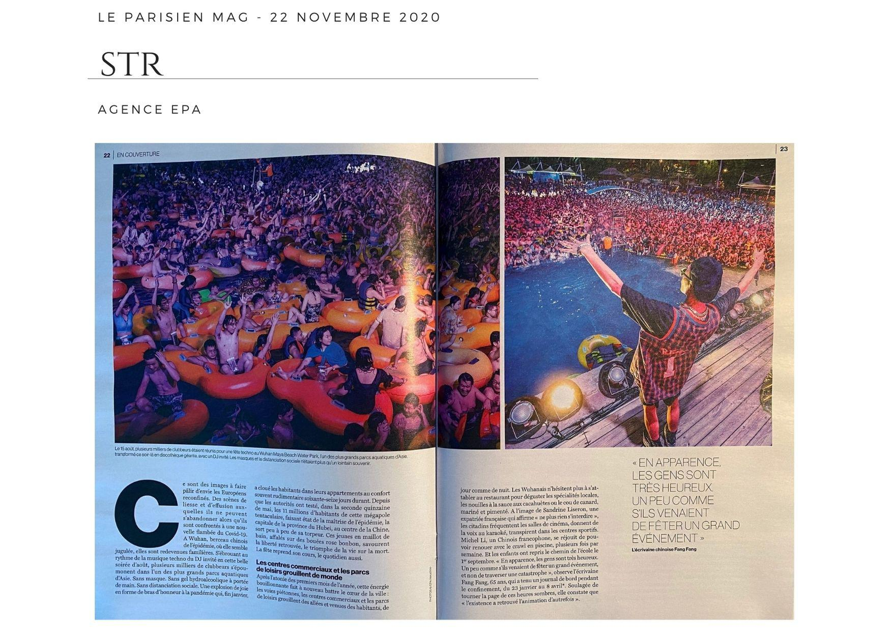 Le Parisien Magazine - 22 novembre 2020