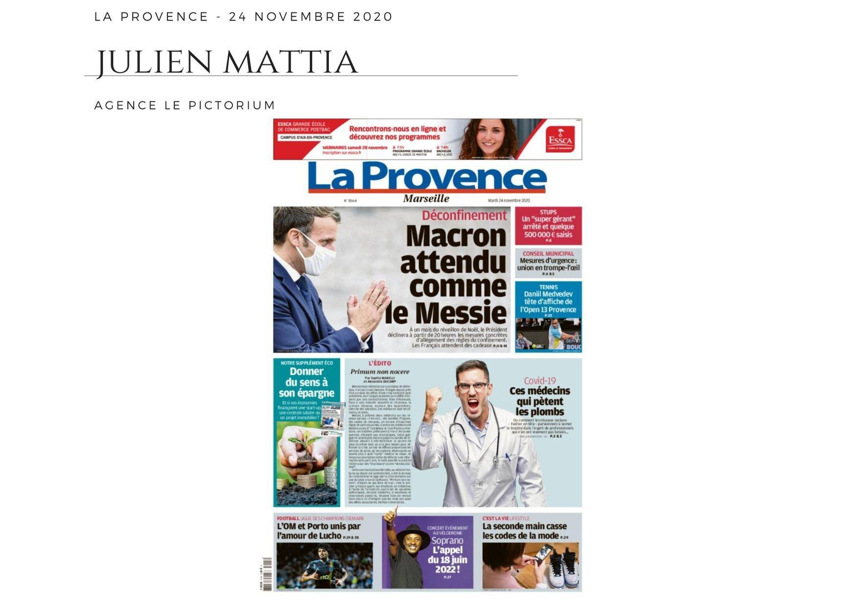 La Provence - 24 novembre 2020