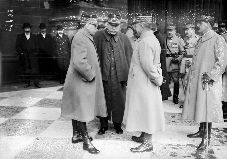 Joffre et Foch en 1919