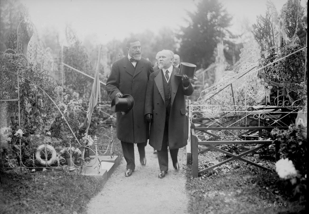 Poincaré et Delanney, 1917