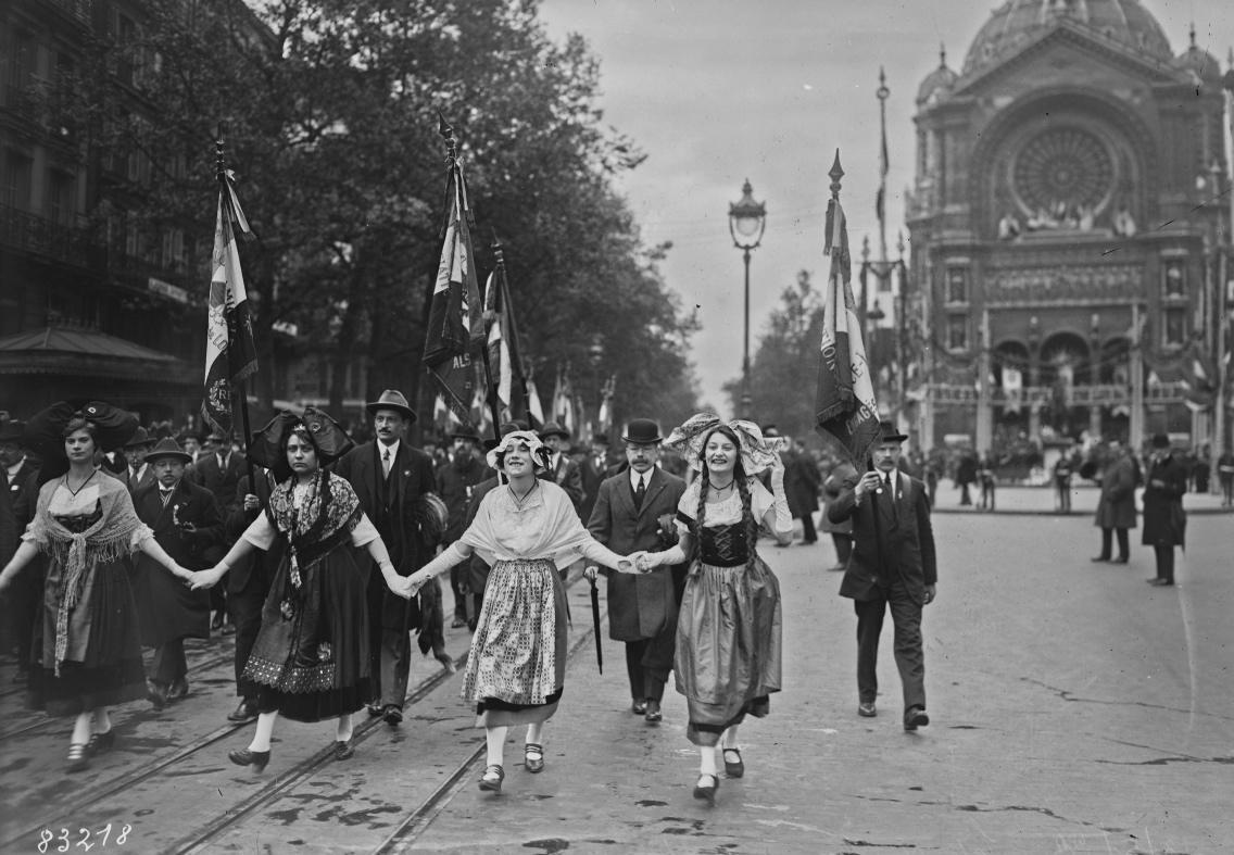 Fête de Jeanne d'Arc en 1923