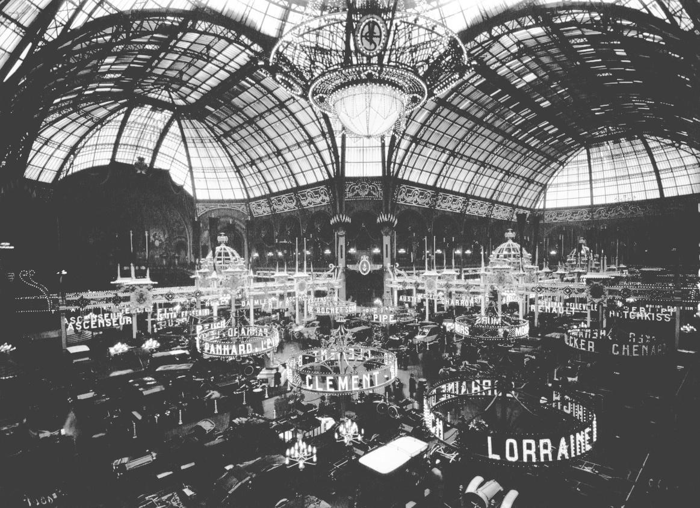 Salon de l'Automobile, 1910