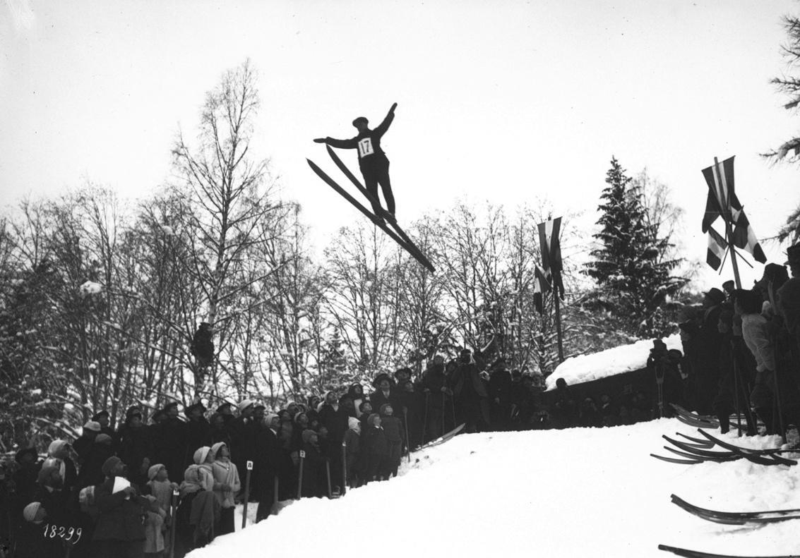 Concours international de saut à ski en 1912