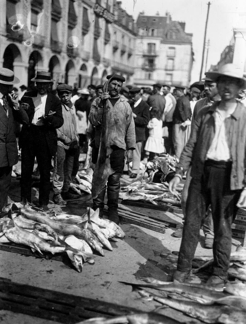Pêcheurs à Dieppe