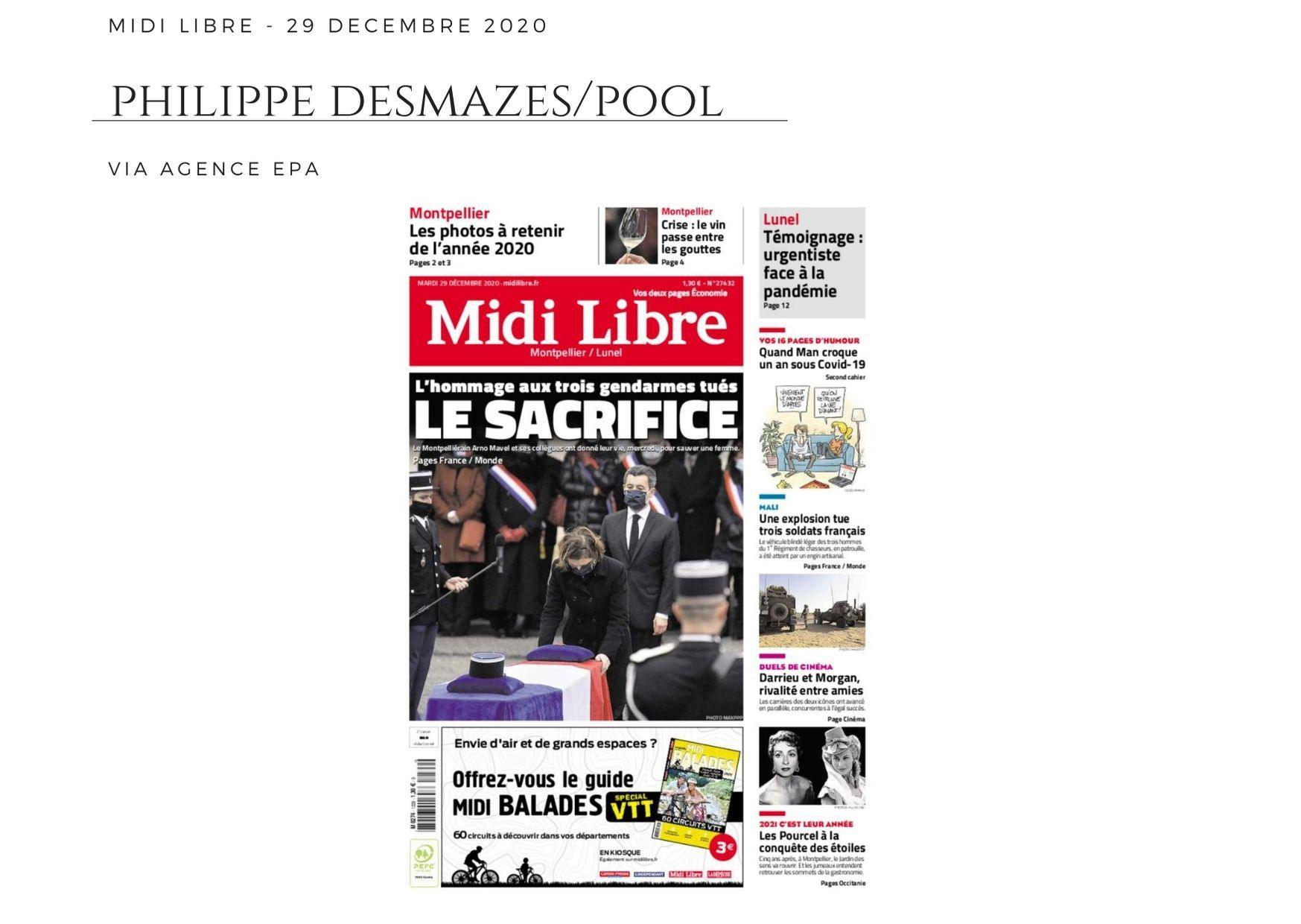 Midi Libre - 29 décembre 2020