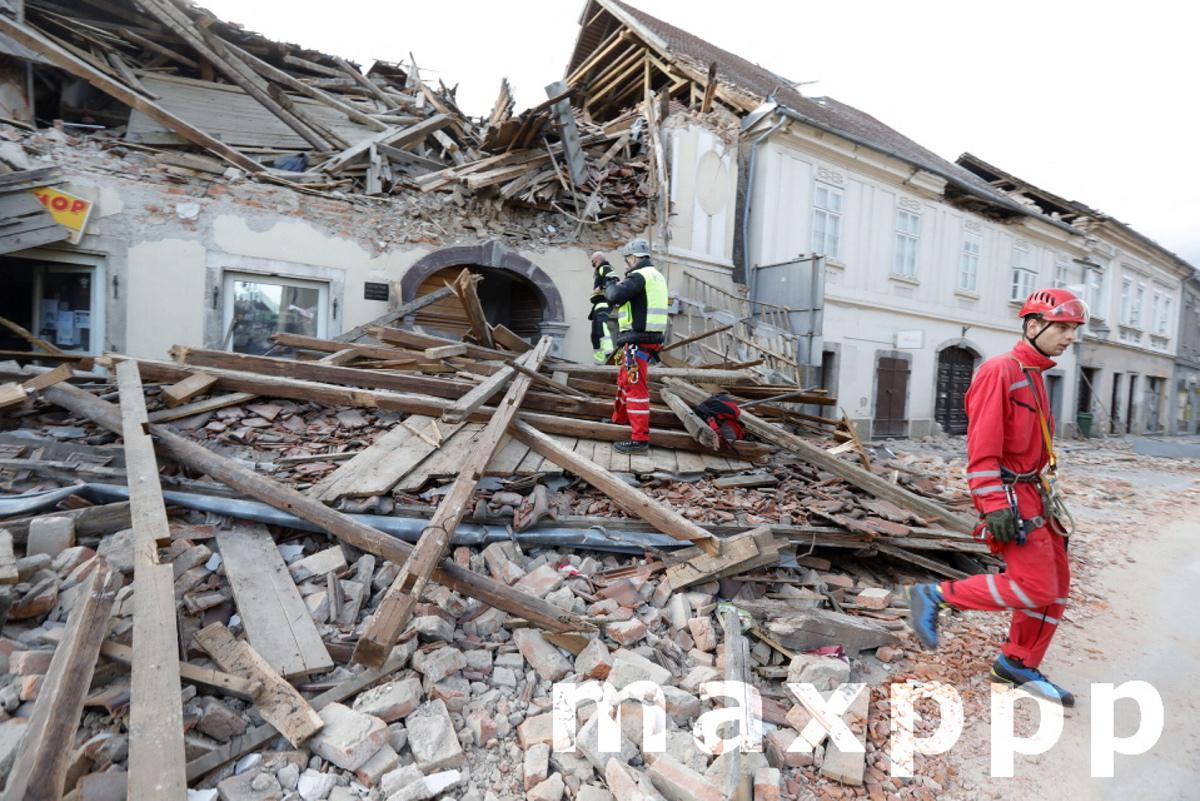 A 6.4 magnitude earthquake strikes Croatia
