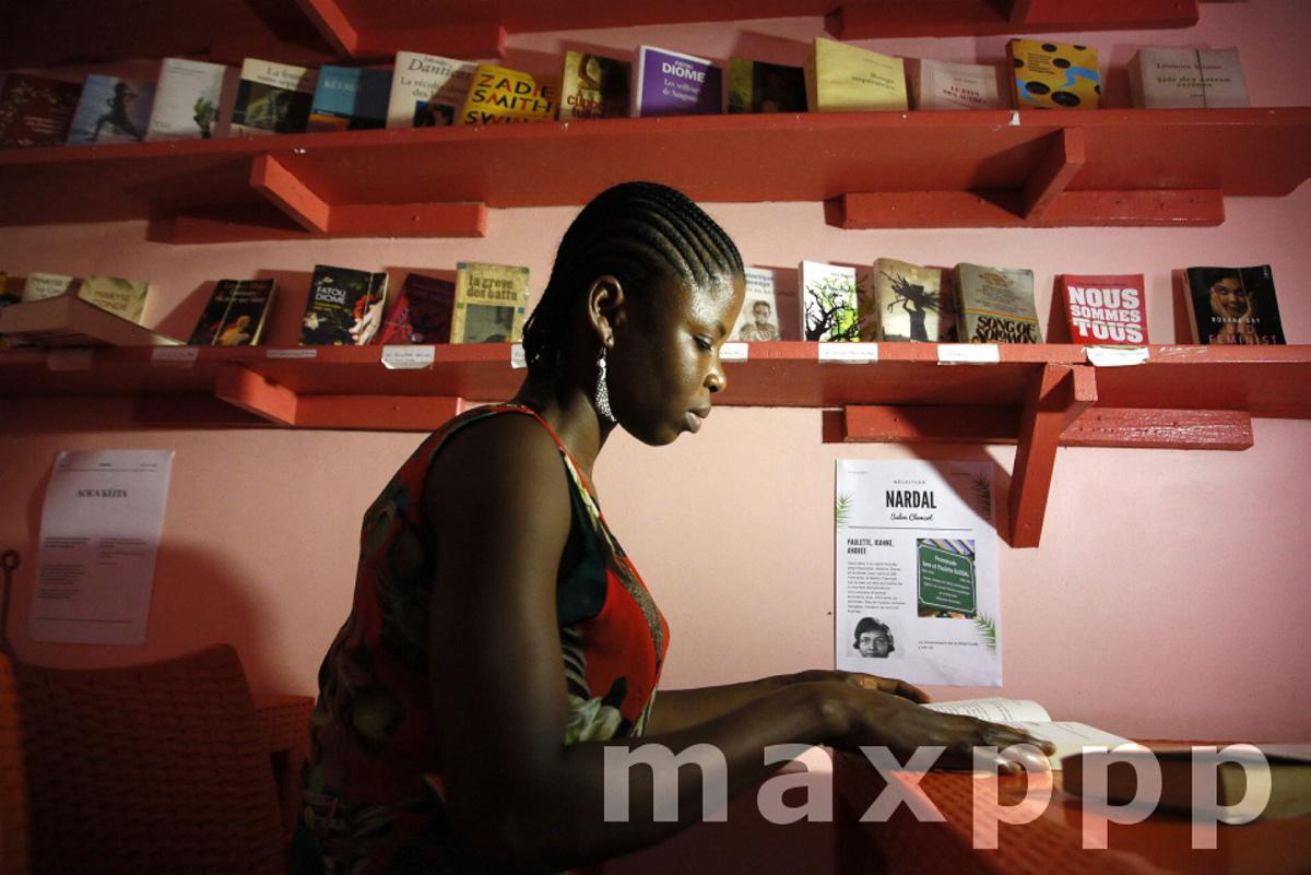feminist library in Abidjan