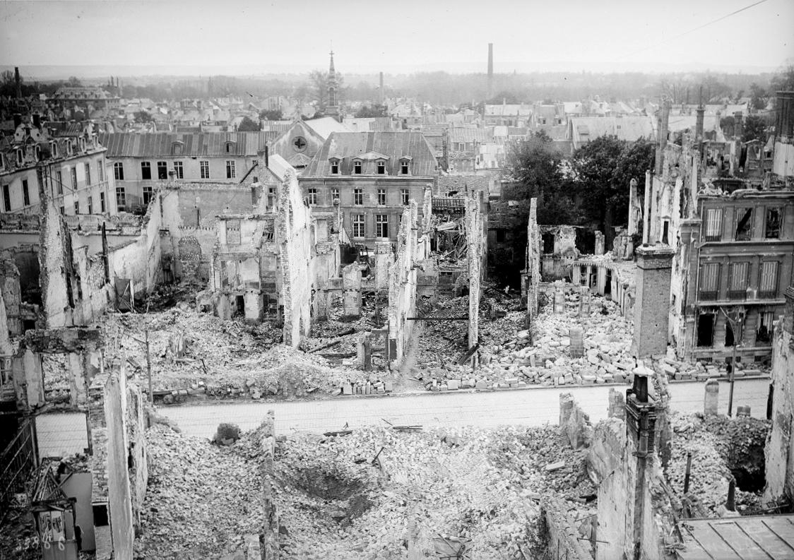 Reims en ruines