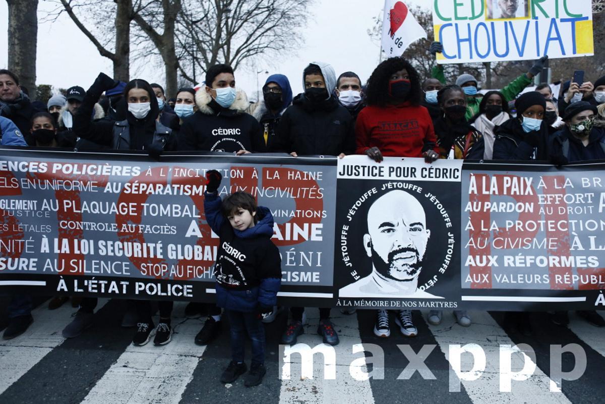 Marche blanche pour Cédric Chouviat