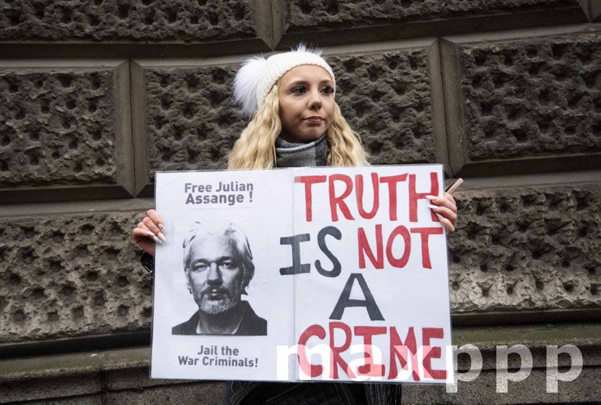 Julian Assange extradition case