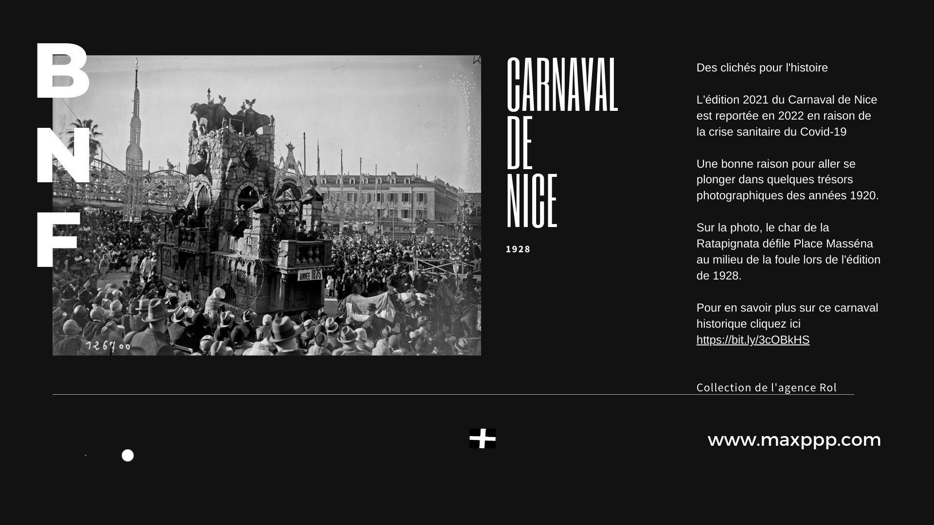 Carnaval de Nice, 1928