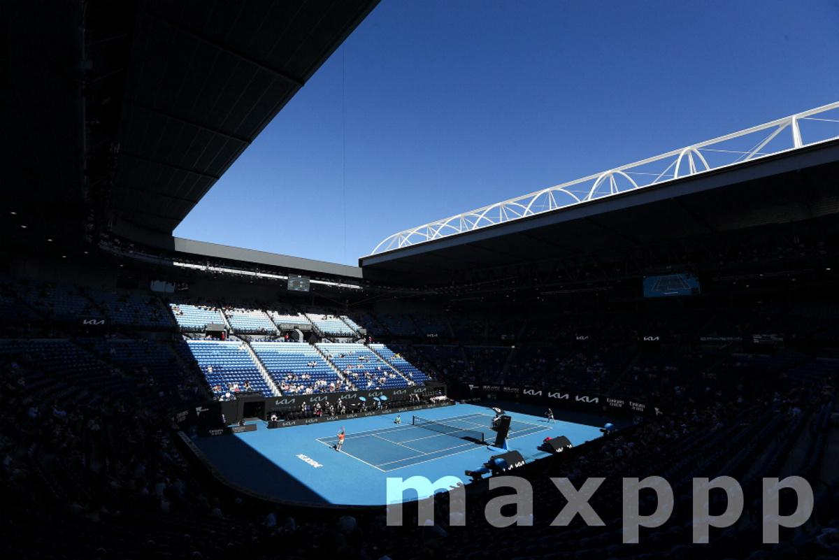 Australian Open tennis tournament in Melbourne