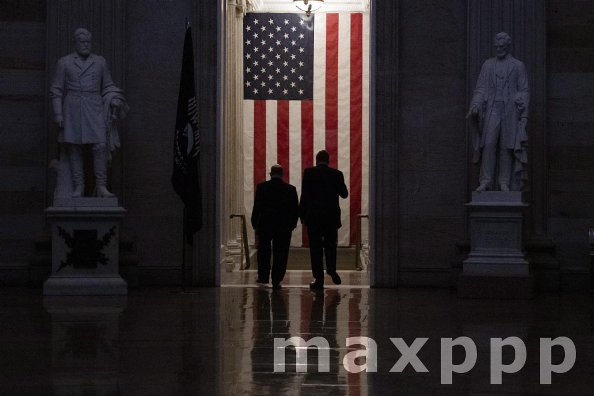 Senate impeachment trial of former President Donald J. Trump at the U.S. Capitol.