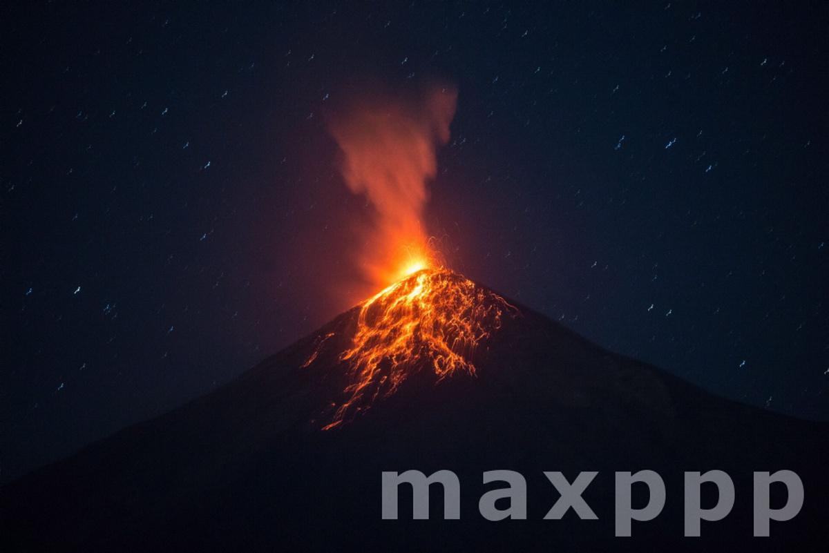 Volcan de Fuego erupts, in Guatemala