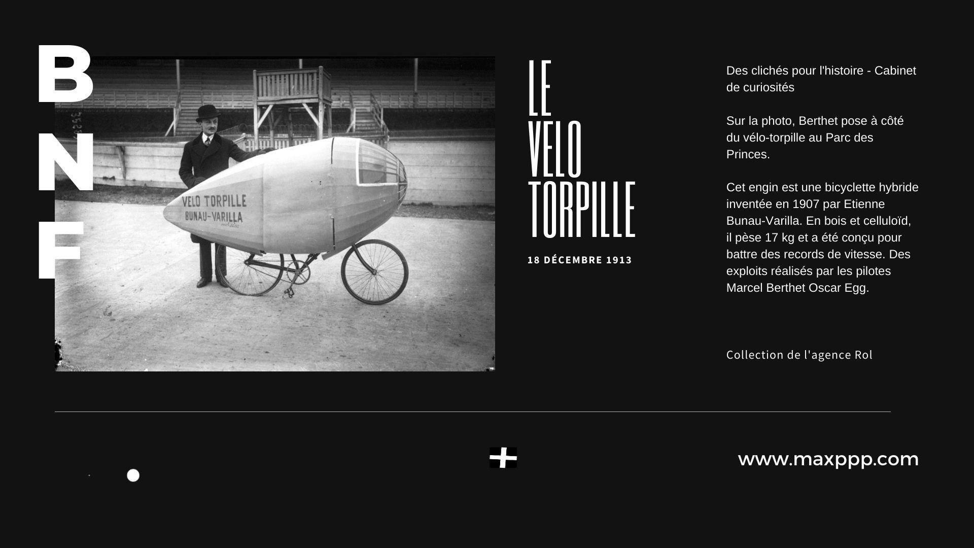 Le Vélo torpille