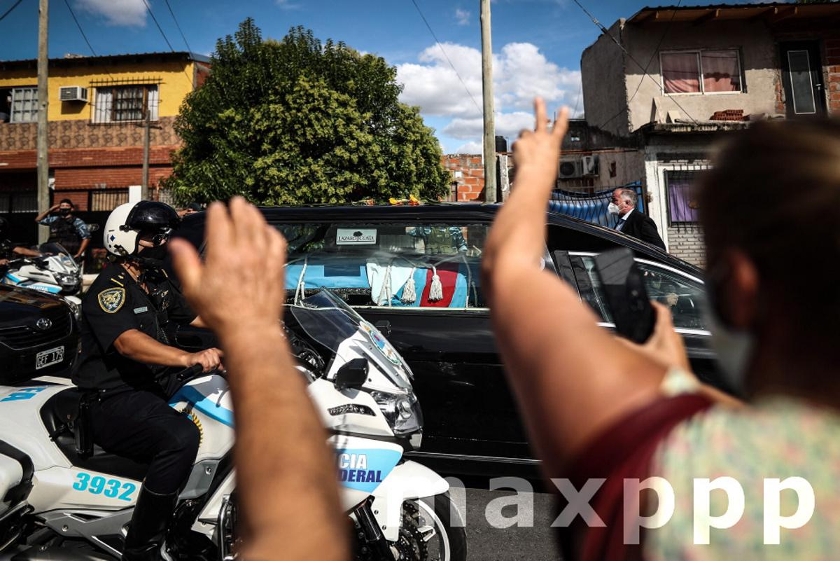 Farewell events of former President Carlos Menem