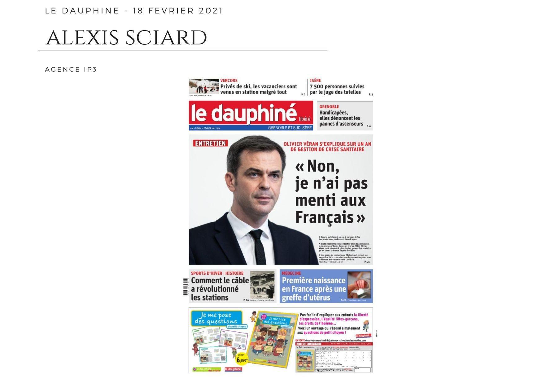 Le Dauphiné - 18 février 2021