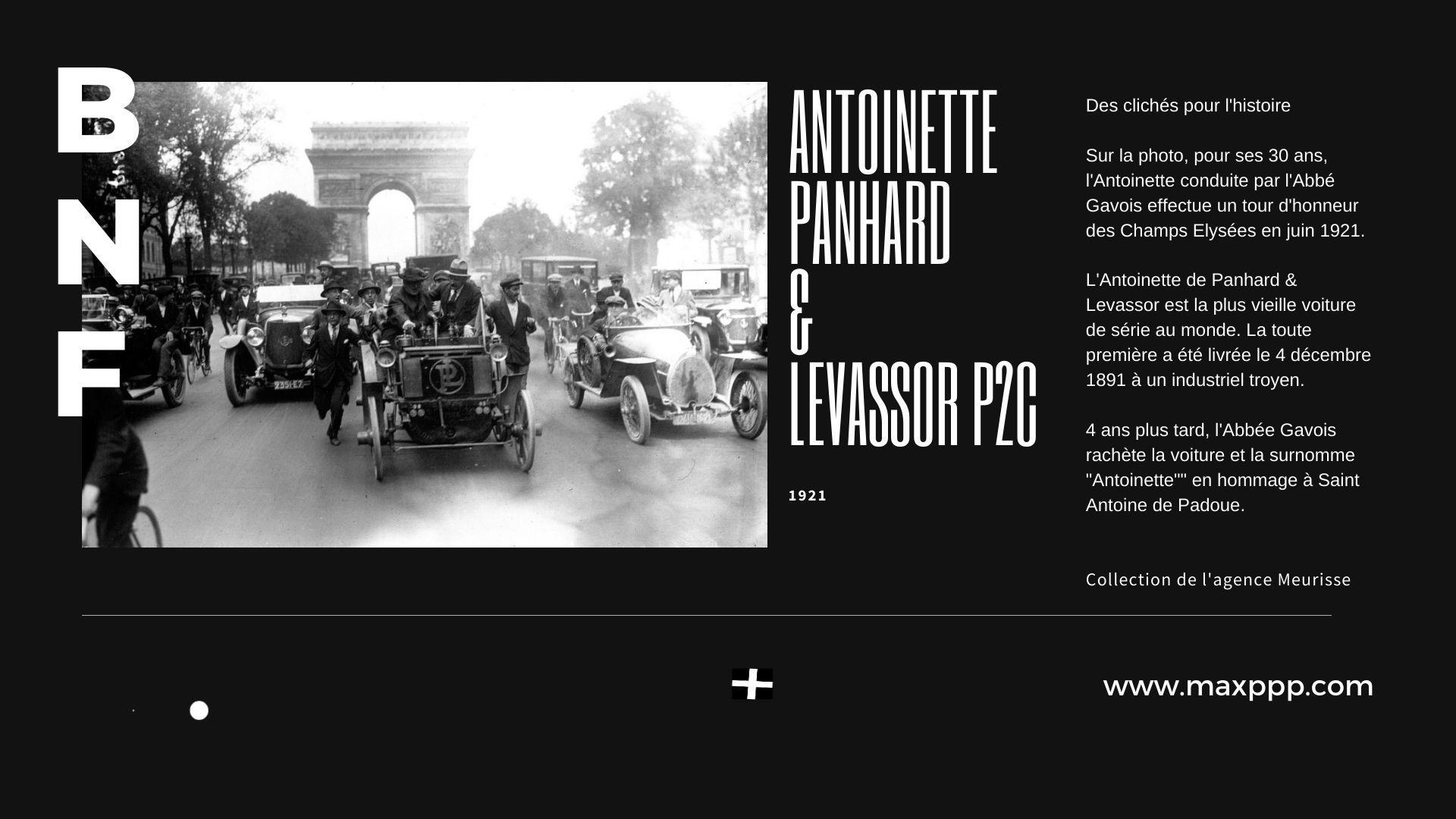 Antoinette, la plus vieille voiture au monde