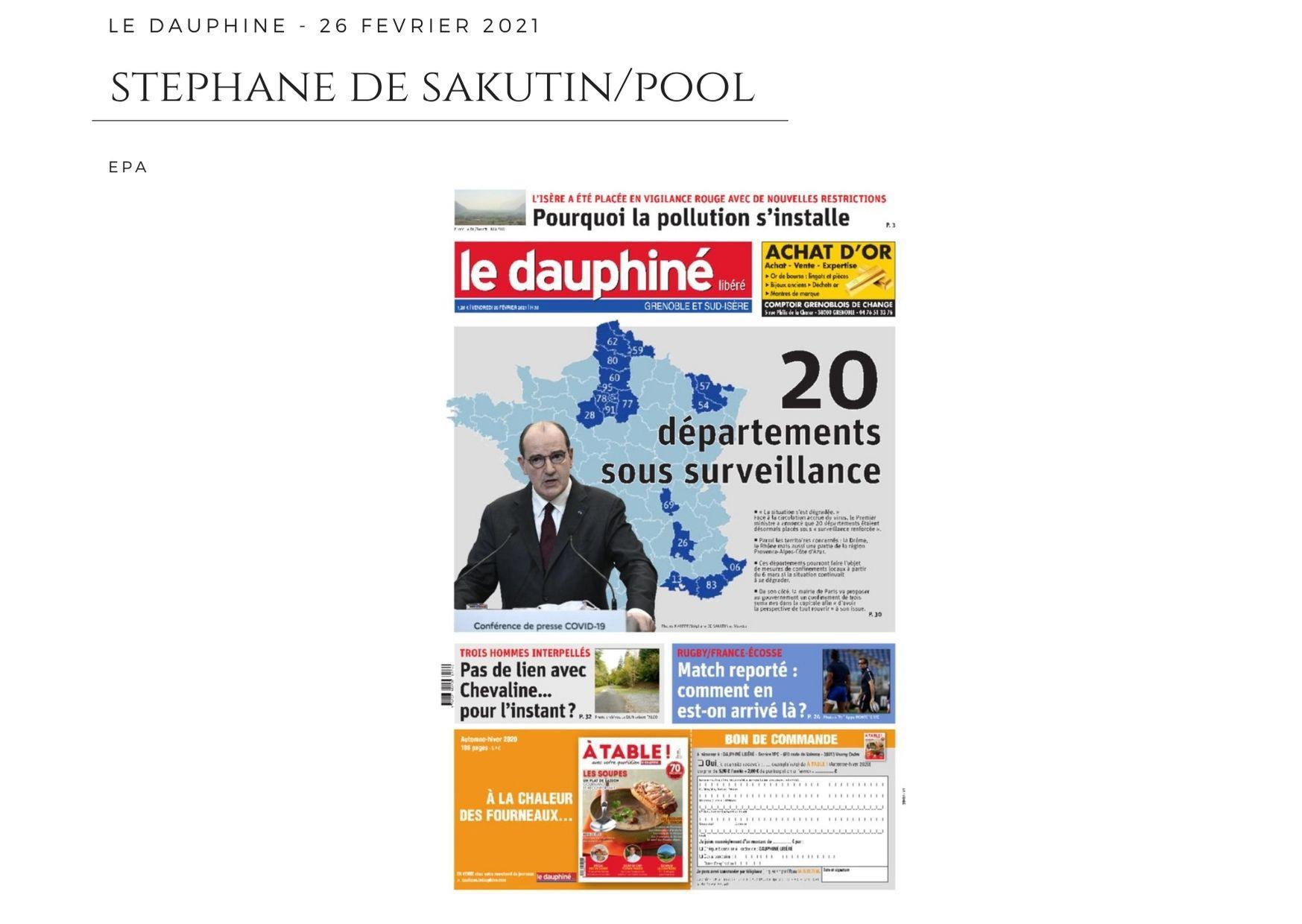 Le Dauphiné - 26 février 2021
