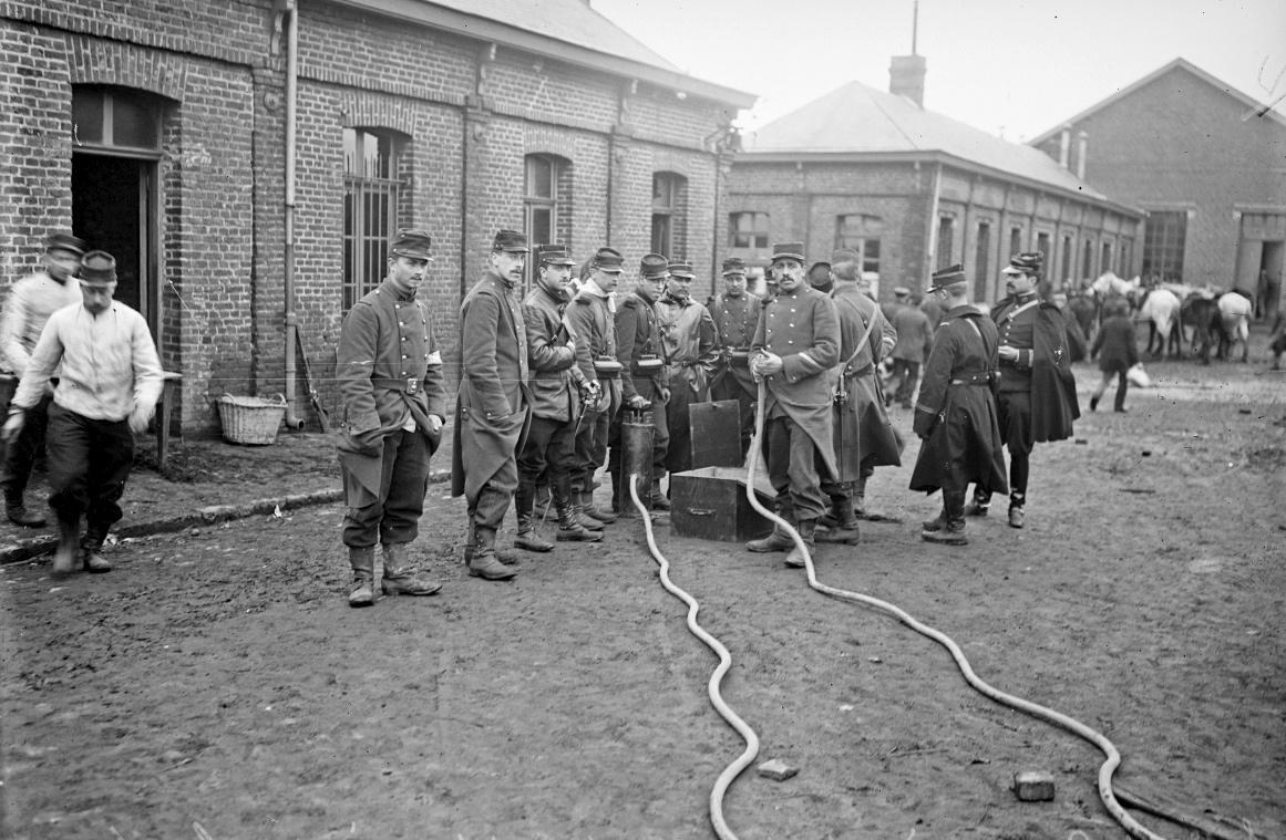 1906, catastrophe minière de Courrières
