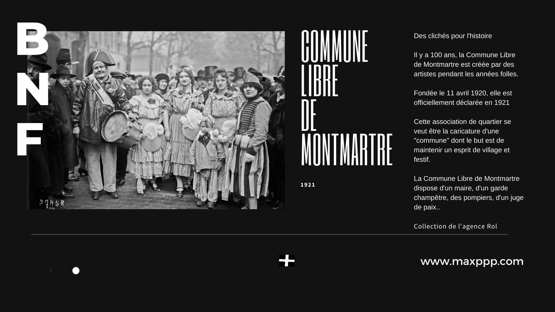 100 ans de la Commune Libre de Montmartre